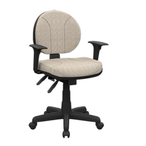 Cadeira Plaxmetal Executiva c/ BlackPlax