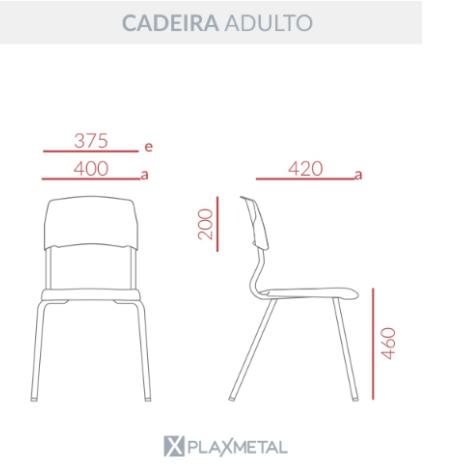 Cadeira Eloplax Adulto
