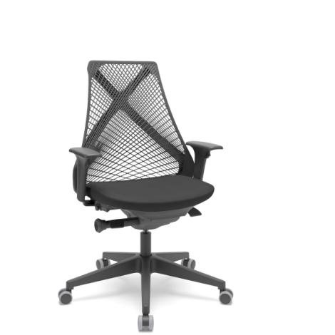 Cadeira Plaxmetal BIX